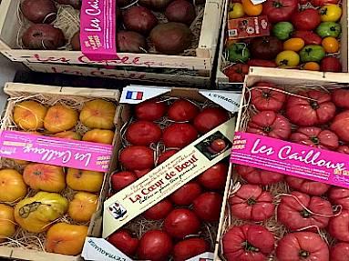 Assortiment aan tomaten uit de Provence